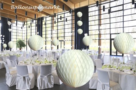 Deko Hochzeitssaal by Ballonsupermarkt Onlineshop De Wabenkugel Wei 223
