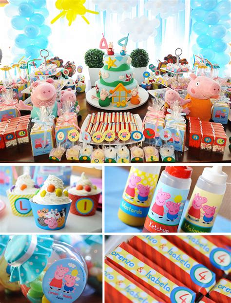 peppa pig birthday planning ideas supplies