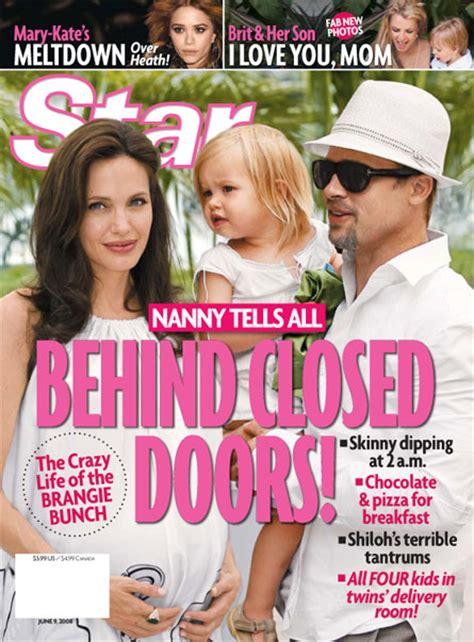 Nanny Spills The Beans by Nanny Spills The Beans On And Brad Pitt