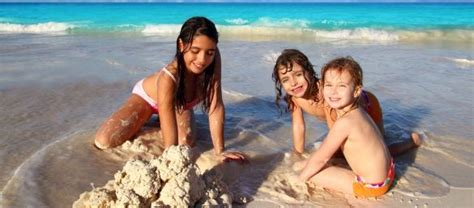 Beautiful Kid Friendly Christmas Vacations #1: Children-beach.jpg