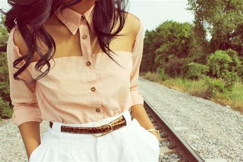 Vintage style vintage fashion vintage blouse pretty blouse cute