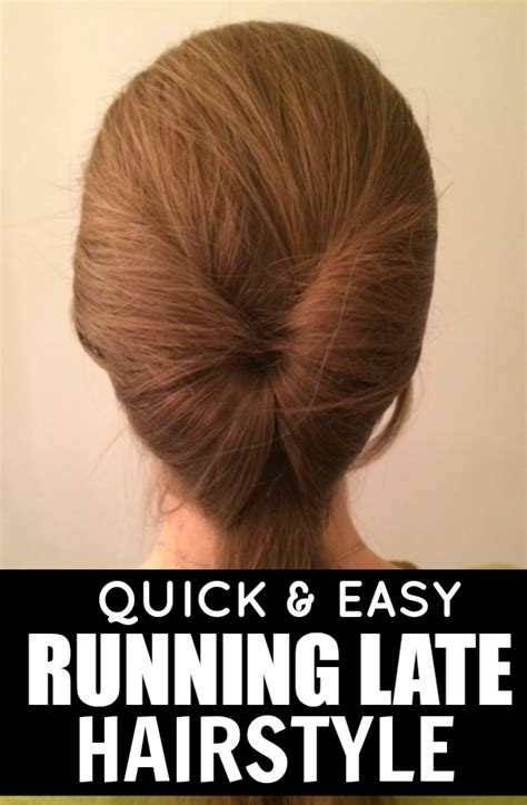 quick and easy hairstyles videos download easy running late hairstyles quick easy running late
