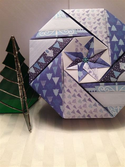 Origami Octagonal Box - 17 best images about origami gift boxes on