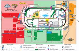 parking information for indy speedway