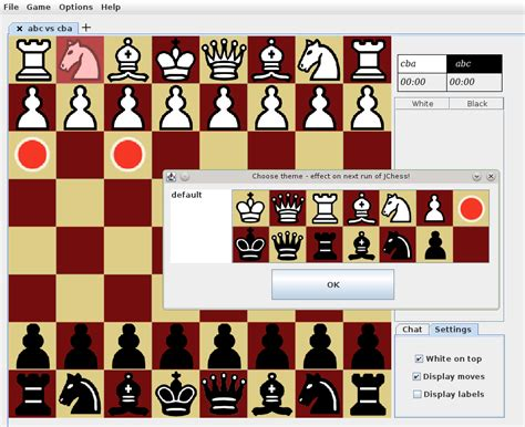 themes java down java open chess download sourceforge net