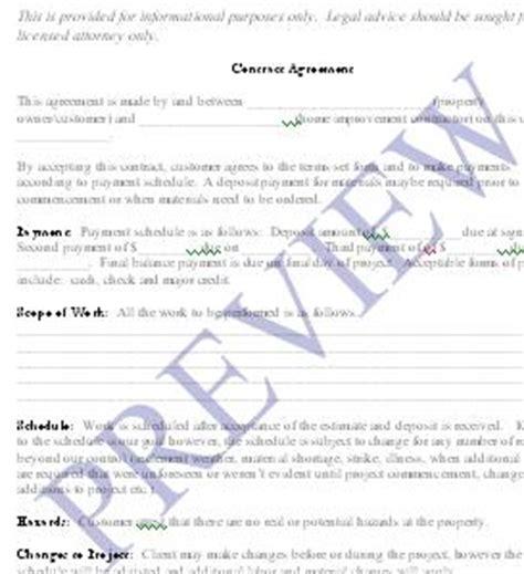 Sle Handyman Contract Free Printable Documents Handyman Agreement Template