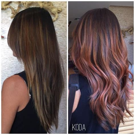 brunettes dramatic hair this lovely client wanted a dramatic color change to honor