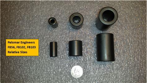 ferrite bead selection guide slip on ferrite palomar engineers 174