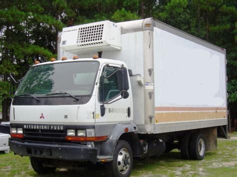 mitsubishi fuso box truck mitsubishi fuso fh truck refrigerator box 2003 used