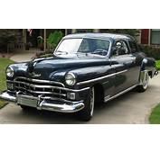 1950 Chrysler Windsor  Information And Photos MOMENTcar