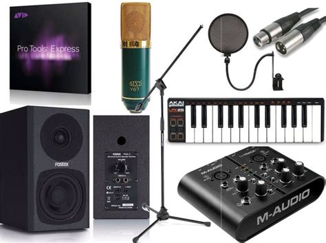 Best Recording Package Also Search For Mtrack Plus Pro Tools Express Home Recording Studio Package Bundle V6