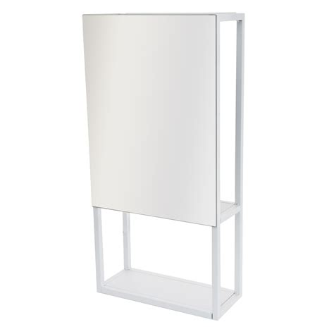 casa spa casa spa wall mirror storage unit white leekes