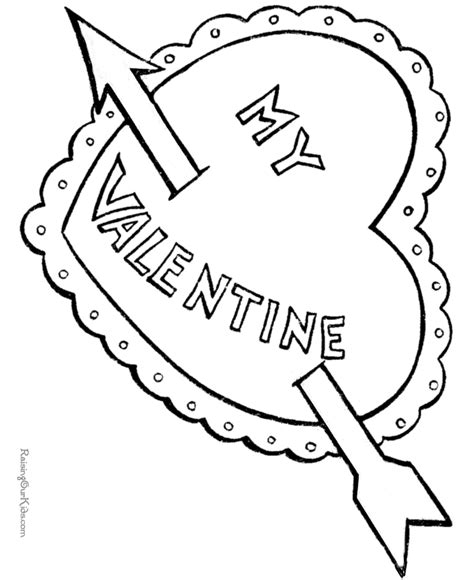 Printable Valentine Coloring Pages Of Hearts 006 Happy Valentines Day Hearts Coloring Pages