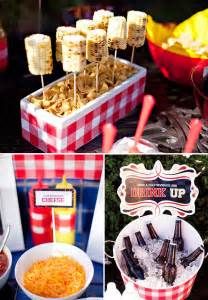 summer bbq theme free party printables hostess with