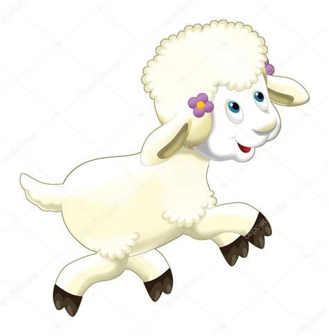imagenes sarcasticas animadas dibujos animados divertidas ovejas saltando y viendo