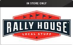 Rally Gift Cards - sell rally house in store only gift cards raise