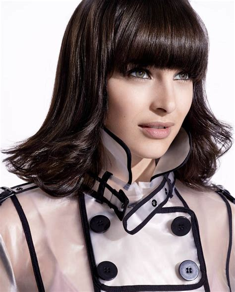 medium long flipped hair flipped out bob hairstyle the latest trends in women s