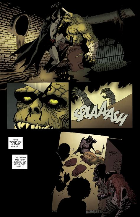 batman killer croc batman vs killer croc battles comic vine