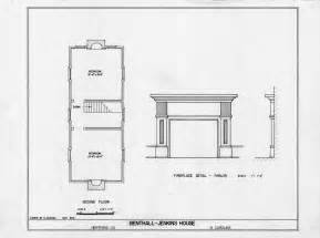 Fireplace Plans Second Floor Plan And Fireplace Details Benthall Jenkins