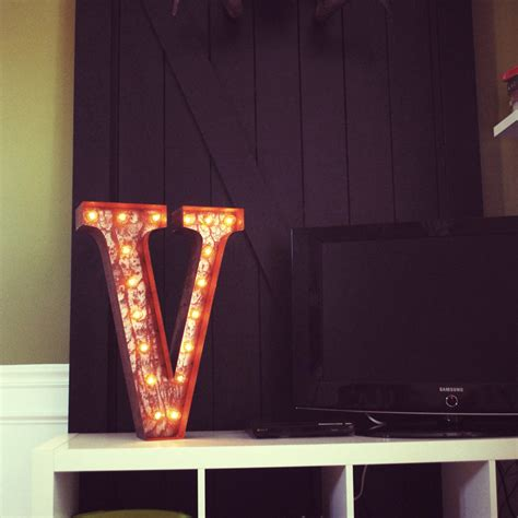 marquee lights 24 inch letter v marquee light by vintage marquee lights