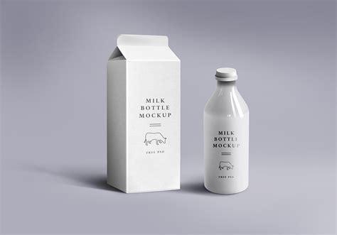 milk packaging mockup graphicsfuel