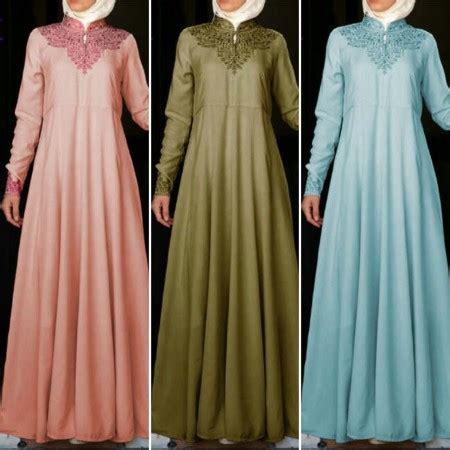 Shiren Set Salem Grosir Baju Muslim Baju Gamis Baju Murah baju gamis pesta hermy bordir a104 busana muslim modern