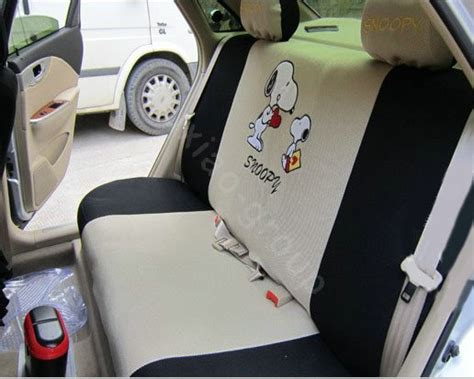 Snoopy Front buy wholesale snoopy auto car front rear seat covers cushion gray eb008 car seat covers