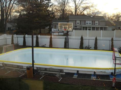 Backyard Rink Ideas Basketball On Backyard Rinks And Basketball