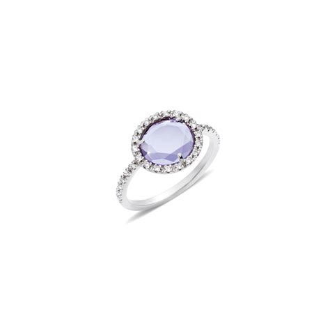 anello tipo pomellato pomellato ring colpo di fulmine in purple lyst