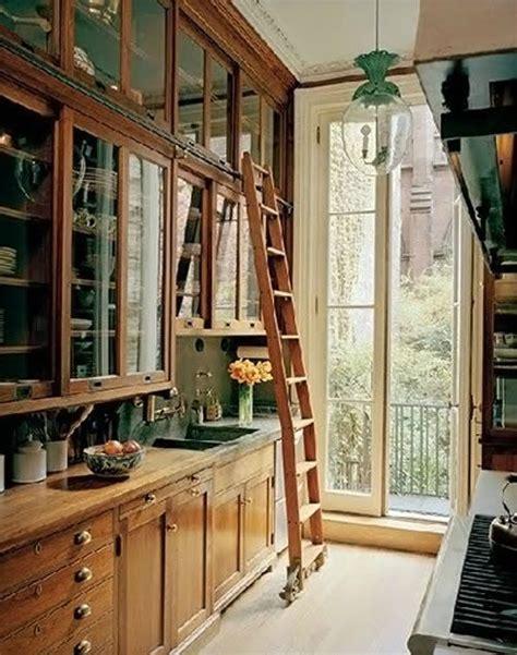 Ladder Kitchen Cabinets 47 Best Galley Kitchen Designs Decoholic