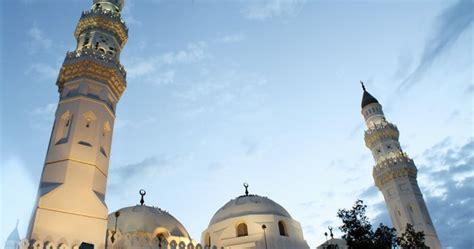 masjid quba masjid tertua  dunia lembar kehidupan