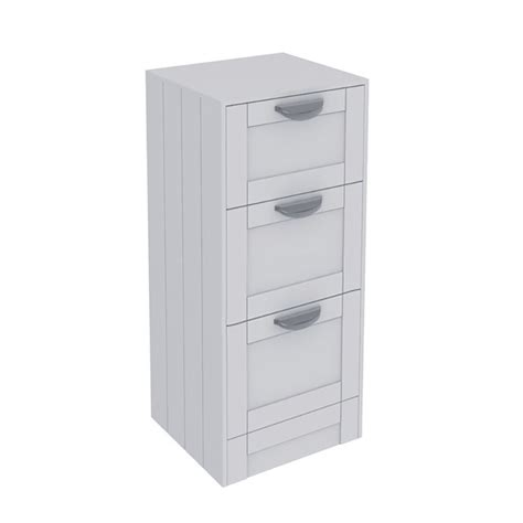 drawer storage units nottingham white 3 drawer storage unit