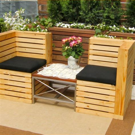 How To Make Patio Furniture Out Of Wood Pallets How To Build Furniture Out Of Wood