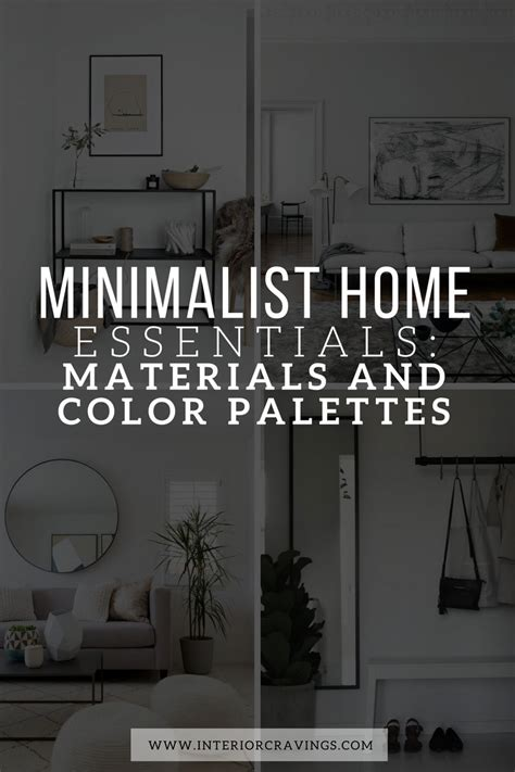 M S Home Design Tool by Minimalist Home Essentials Materials And Color Palette