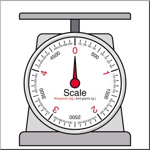 Timbangan Great Scale clip weights and measures kilogram scale 1 color i