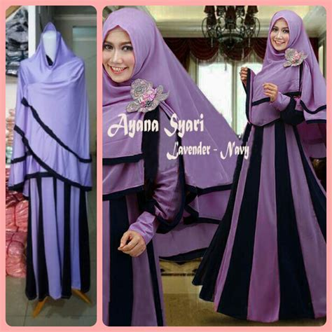 Supplier Baju Zeela Syari Hq 3 jual baju gamis syari cantik set jilbab