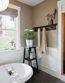 taupe colored bathrooms taupe bathroom cottage bathroom apartment therapy