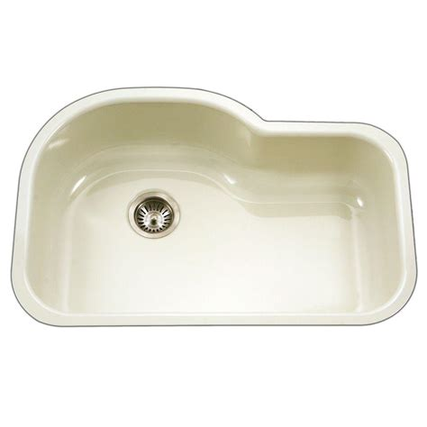 undermount porcelain kitchen sink houzer porcela series undermount porcelain enamel steel 31