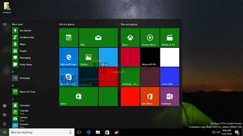 start menu layout windows 8 how to reset the start screen layout in windows 10