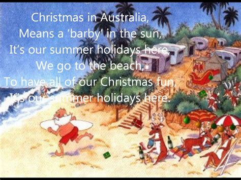 christmas traditions in australia facts in australia