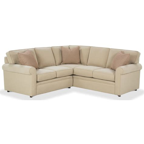 rowe brentwood sectional rowe brentwood rolled arm sectional sofa johnny janosik