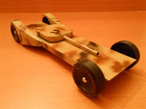 pinewood derby tank templates pinewood derby car boys magazine
