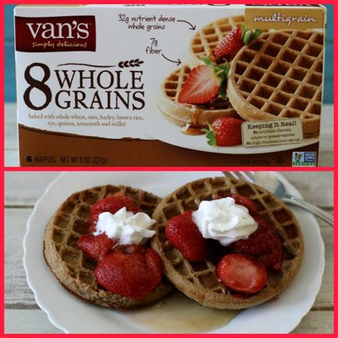 vans 8 whole grains waffles healthy product reviews for everyone