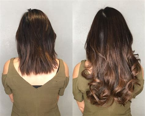 short hairstyles with hair extensions pictures before and after hair extensions before and after vixen blush video