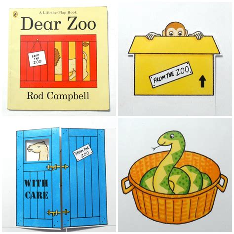 dear zoo printable animals dear zoo by rod cbell mommy mojo