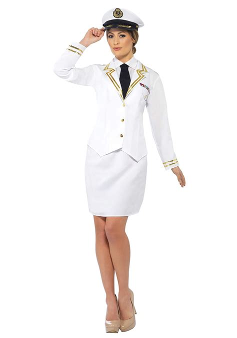 naval officer costume for