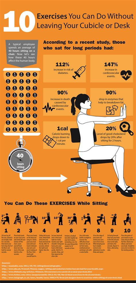 Exercises To Do At Desk by 10 Exercises You Can Do At Your Cubicle Or Desk Cubicle