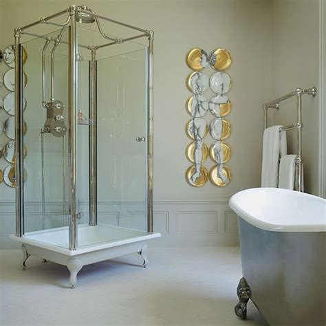 glass enclosed shower the spittal freestanding glass shower a complete glass