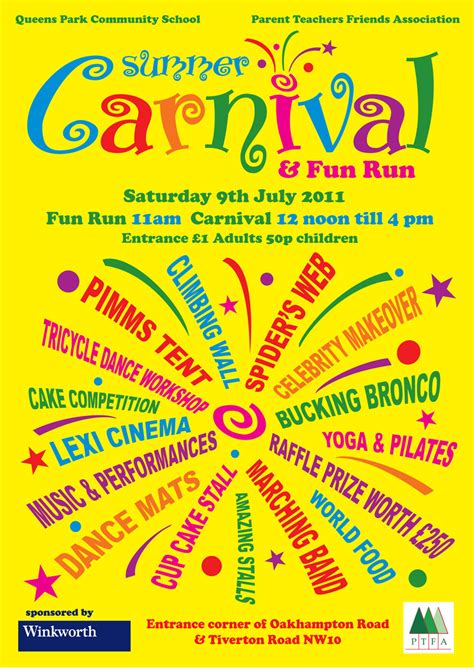 carnival posters template carnival poster template