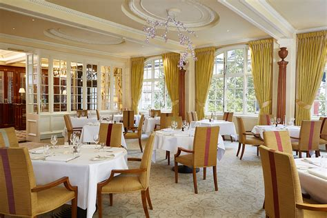 hotel dining room the goring in london is awarded its first michelin star